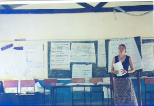 Leading an HIV/AIDS Training for Elementary School Teachers (i.e. proof I did work occasionally)